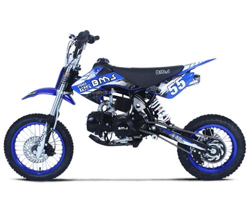 BMS | PRO 125 | Dirt Bike (125cc - Manual)