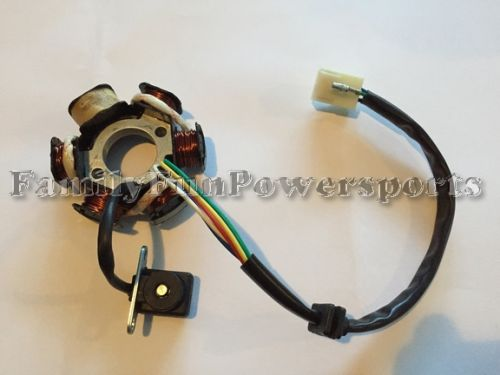 Stator   6 Pole   110cc - 125cc