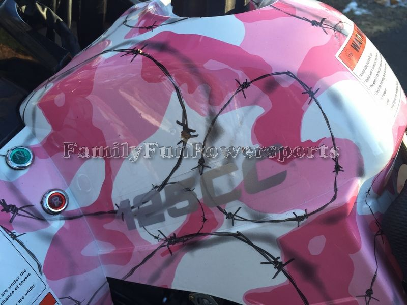 Pink Camo TaoTao T-Force