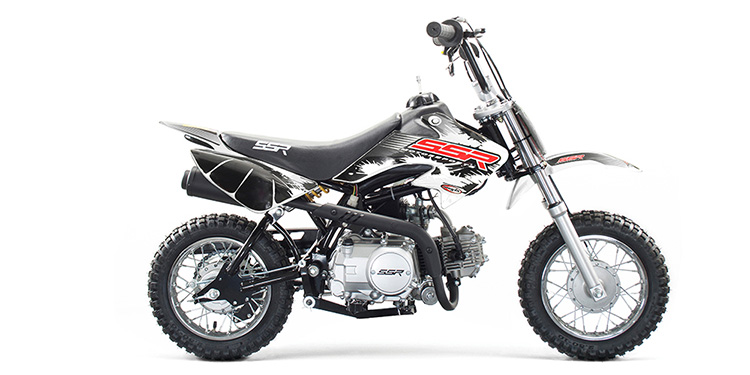 ssr sr70auto 70cc automatic With honda 70cc pit bike